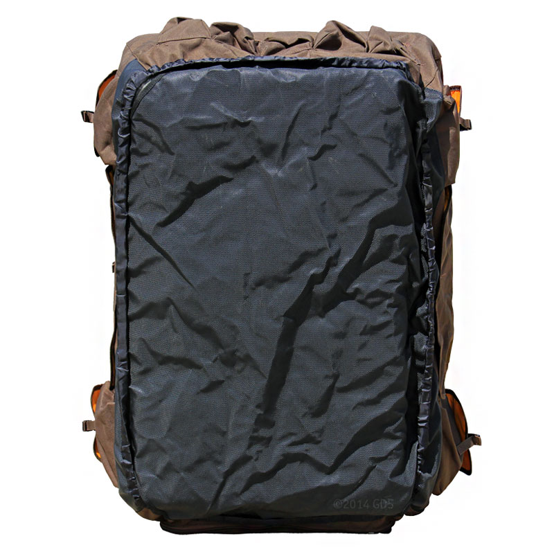 Large Extended Brown Dixie Insulated Kennel Cover By Mud