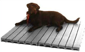 Kennel Deck Kennel Platforms -- 3 PACK
