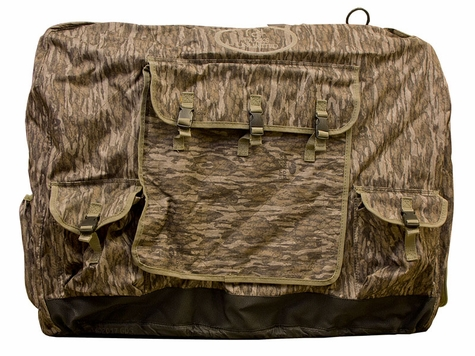 Large Bottomland Camo Insulated Kennel Cover by Mud River