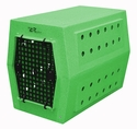 buy discount  Large Dog Crate Green Speckle