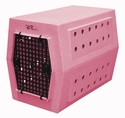 buy discount  Large Dog Crate Pink Speckle
