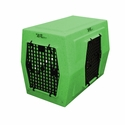 buy discount  Large Double Door Right Side Entry Kennel Green
