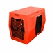 Large Double Door Right Side Entry Kennel Orange
