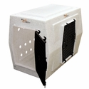 buy discount  Large Double Door Side Entry Kennel Right Open