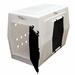 Large Double Door Side Entry Kennel Right Open