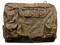 Large Extended Bottomland Camo Insulated Kennel Cover by Mud River
