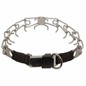 buy discount  LARGE Herm Sprenger Stainless Steel Pinch Collar with Security Buckle #50007