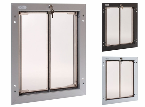 LARGE Plexidor Door Mount Dog Door
