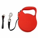 buy discount  Large Red Flexi Explore Extra Long Retractable Tape Leash -- 26 ft.