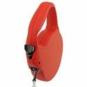 buy discount  Large Red Retractable X-Long Leash Button Detail