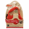 buy discount  Large Red Retractable X-Long Leash Package