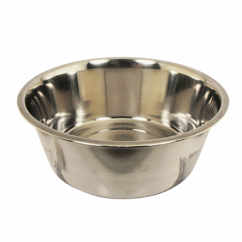 Large Stainless Steel Bowl #8337 -- approx 160 oz.