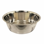 shop Large Stainless Steel Bowl #8337 -- approx 160 oz.