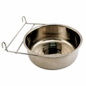 buy discount  Large Stainless Steel Kennel Cup with Hanger -- approx 88 oz.