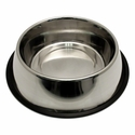buy discount  Large Stainless Steel No-Tip Dog Food & Water Bowl #8304 -- approx 96 oz.