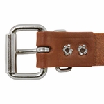 shop 1 in. Leather Center-Ring Collar Buckle Inside Detail