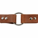 buy discount  1 in. Leather Center-Ring Collar Outside of Ring Detail