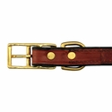 buy discount  Leather Collar Back of Buckle Detail