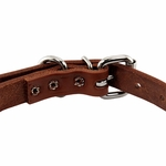 shop Leather Collar Buckle Inside Detail