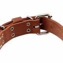 buy discount  Leather Collar Buckle Inside Detail