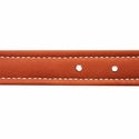 buy discount  Leather Collar Inside Stitching Detail