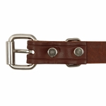 shop Leather Puppy Collar Buckle Inside Detail