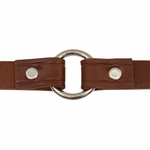 shop Leather Puppy Collar Inside Center Ring Detail