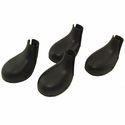 Lewis Vented Rubber Dog Boots -- Set of 4