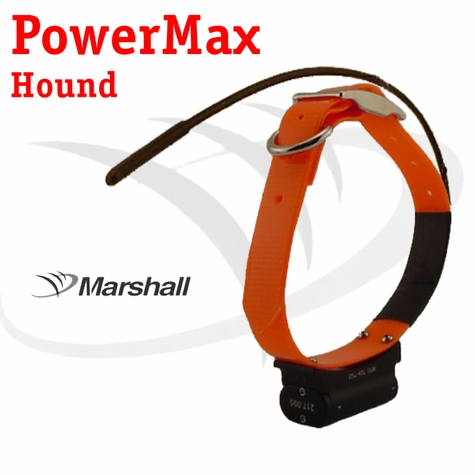 Marshall Radio Telemetry PowerMax Hound Tracking Additional Collar / Extra Transmitter - ORANGE