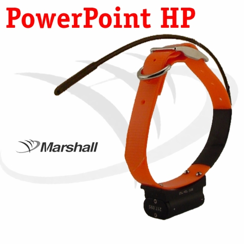 Marshall Radio Telemetry PowerPoint HP Tracking Additional Collar / Extra Transmitter - ORANGE