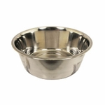 shop Medium Stainless Steel Dog Bowl #8336 -- approx 96 oz.