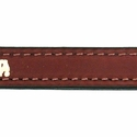 buy discount  Mendota 12 in. Leather Steady Tab Inside Stitching Detail