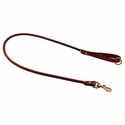 buy discount  Mendota Rolled Leather Snap Lead -- 4 ft. x 3/4 in.