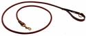 Mendota Rolled Leather Snap Lead -- 6 ft. x 3/4 in.
