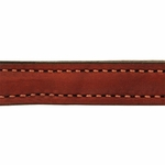 shop Mendota 6 in. Leather Steady Tab Outside Stitching Detail