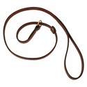 buy discount  Mendota Slip Lead - Flat Leather 4 ft. x 5/8 in.
