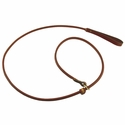 Mendota Slip Lead - Rolled Leather - 6 ft. x 3/4 in.