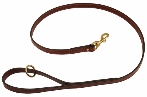 Mendota Snap Lead - Leather - 4 ft. x 3/4 in.