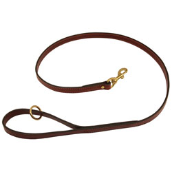 shop Mendota Snap Lead - Leather - 4 ft. x 3/4 in.
