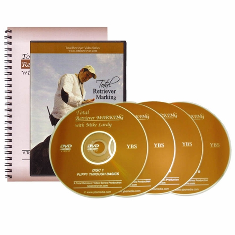 Mike Lardy's Total Retriever Marking DVD Set and Book