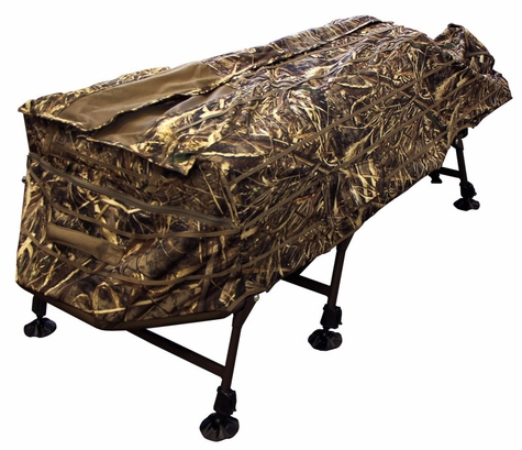 MOmarsh AT-X InvisiLAY Layout Blind -- MAX-5 Camo