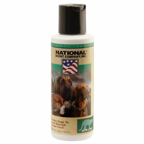Mountain Lion Scent for Dog Training - 4 oz.