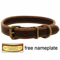 buy discount  Mud River High Prairie Leather Standard Dog Collar