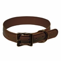 buy discount  Wig Wag Large Dog Collar Chocolate Brown