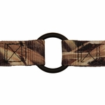 shop NYLON CAMO Center Ring and Stitching Detail