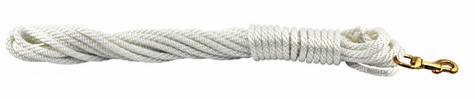 Nylon Check Cord -- White 1/4 in. x 20 ft.