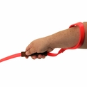 buy discount  Nylon-Lead-With-Leather-Handle-Person-Hand-Holding-Handle-