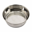 buy discount  1 qt. Omnipet Heavy Stainless Steel Bowl with No-Slip Rubber Ring