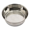 2 qt. Omnipet Heavy Stainless Steel Bowl with No-Slip Rubber Ring -- CUT 6/5/2017