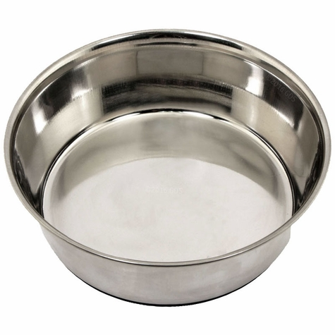 3 qt. Omnipet Heavy Stainless Steel Bowl with No-Slip Rubber Ring